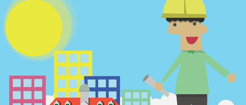 seo graphic for contractor - marketing for construction companies